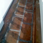 Flat Seam Copper Roofing